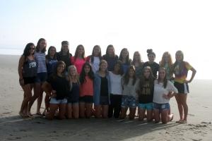 The Southridge High School girls soccer team