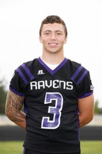Shown above is Boomer Fleming of Ridgeview High School