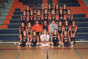 Shown above is the Naperville North girls soccer team