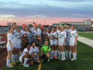Shown above is the 2014-15 Campo Verde girls soccer team