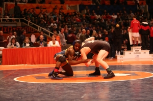Shown above is Kris Williams of South Holland Thornwood